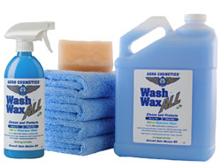 Waterless Car Wash & Wax Kit