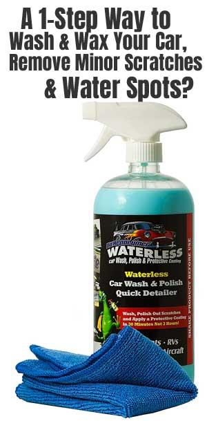 Dual Polymer Waterless Car Wash & Polish: is it Better?