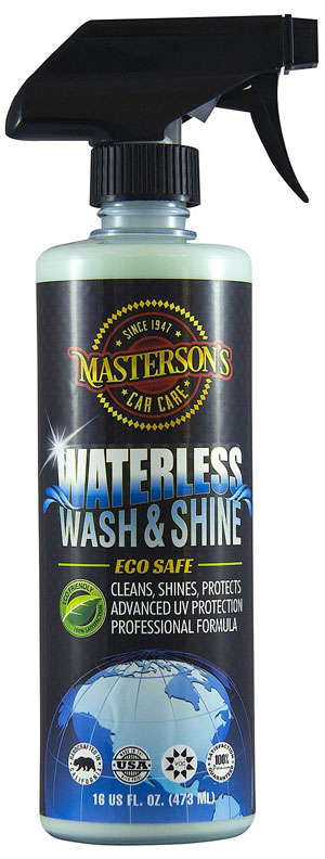Masterson's Car Care Waterless Wash & Shine