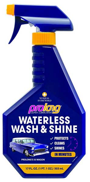 Prolong Waterless Wash and Shine 17 Ounce Spray Bottle (5 Car Washes)