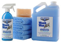 Waterless Wash Wax Kit